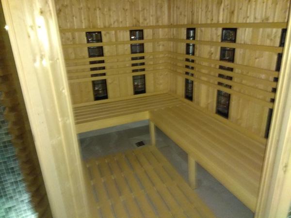 sauna infrared (na podczerwień) aqua centrum chełmiec