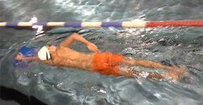 Nauka pływania w Chełmcu